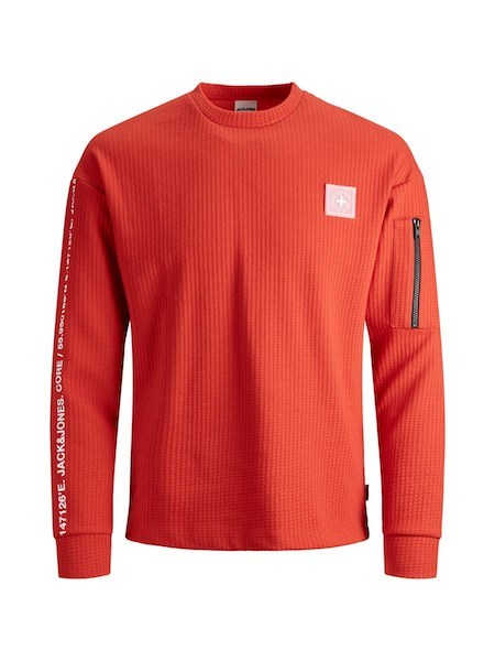 Eno Souvenir Sweatshirt red white