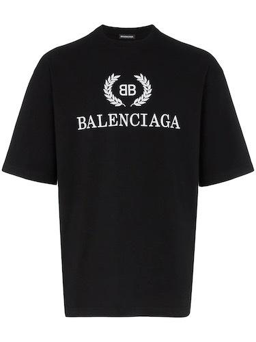 Lil Lano Balenciaga T-Shirt schwarz