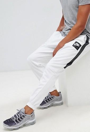 Fler weiße Jogginghose Nike