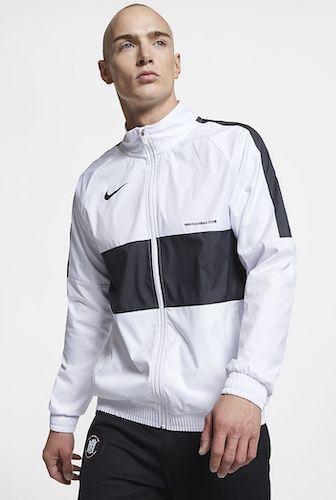 LX schwarz weiße Trainingsjacke