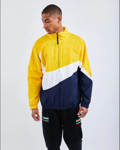 Samra gelbe Trainingsjacke Nike