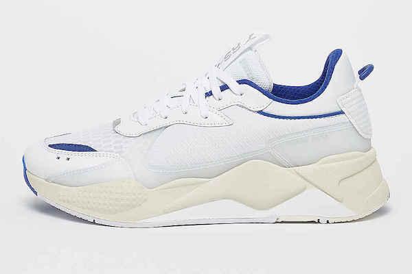 Eno weiß blaue Sneaker Rapper