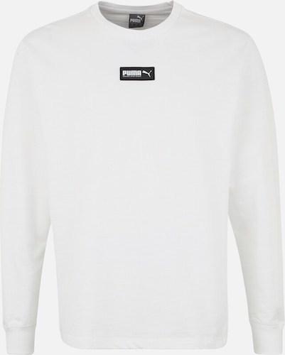 Puma weisser Sweater mit Logo