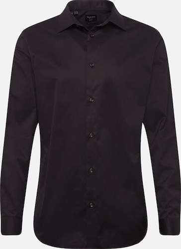 Luciano schwarzes Hemd Ufo361
