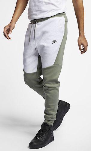 Bundesweit Outfit Jogginghose weiß grün