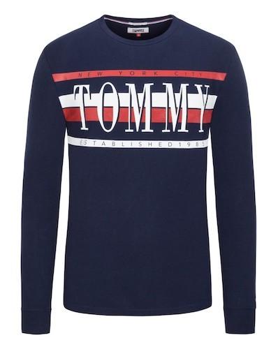 Tommy Jeans Sweatshirt mit Logo