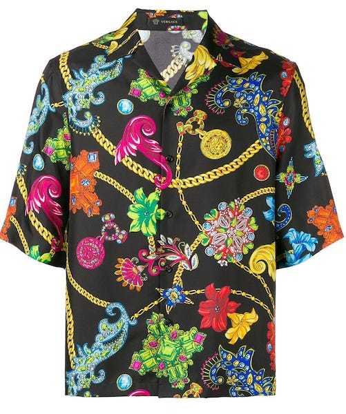 Shindy Nautilus Versace Hemd