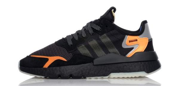 Adidas Nite Jogger schwarz orange