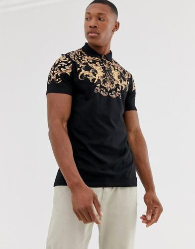Asos Design Barock Polo