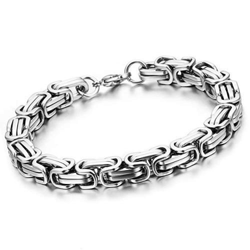 Edelstahl Armband Königskette