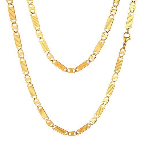 Focalook Halskette Gliederkette