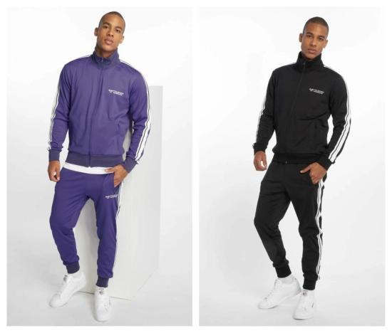 Ghetto Sport Anzug lila