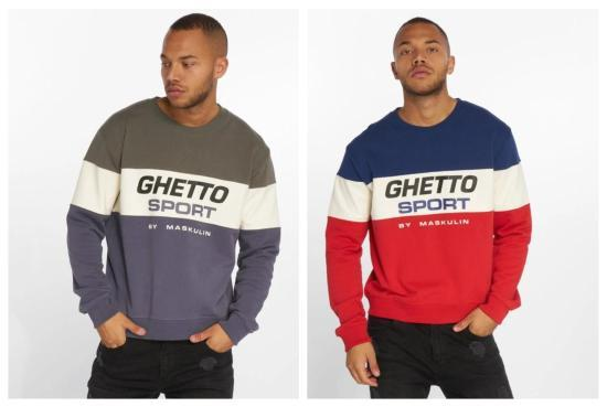 Ghetto Sport Sweatshirt Colorblock