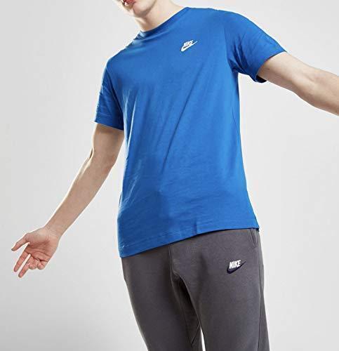 Nike Club T-Shirt Royal Blue