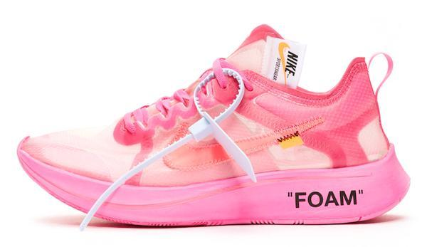 Nike X Off-White Fly Zoom rosa