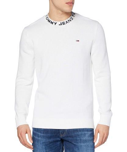 Tommy Jeans Pullover TJM Neck Logo