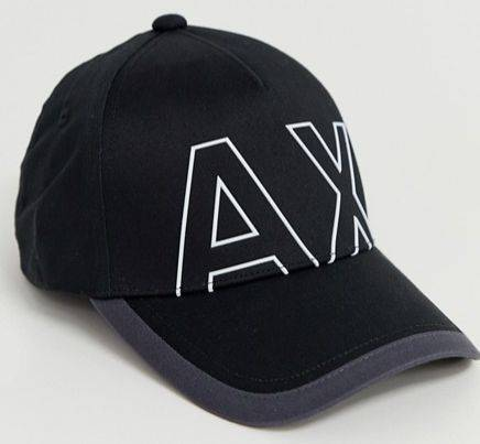 Armani Exchange Cap Logo