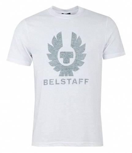 Belstaff T-Shirt Logo weiß