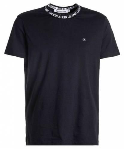 Calvin Klein Jeans Neck Print T-Shirt