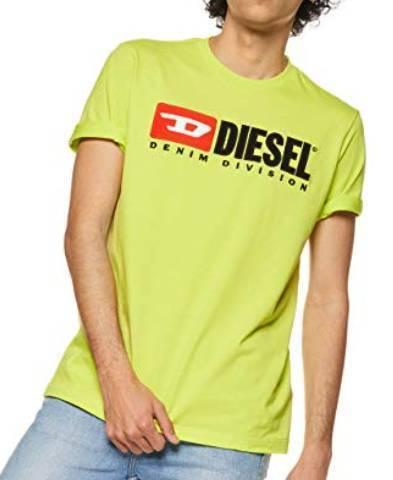 Diesel T-Shirt neongrün