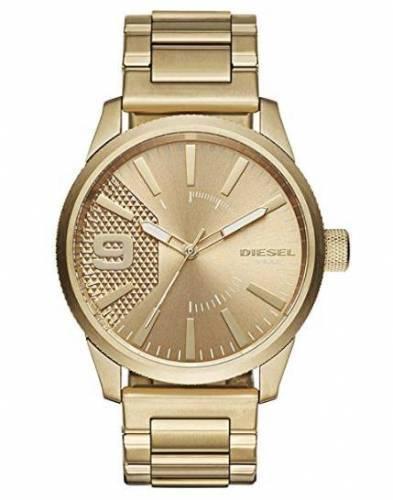 Diesel Uhr gold