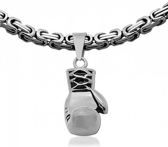 Halskette Boxhandschuh Königskette