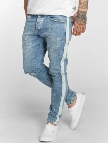 Jeans Seitenstreifen weiß