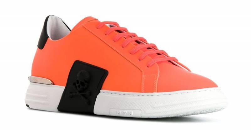 Mero Philipp Plein Sneaker orange