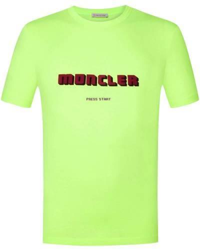Moncler T-Shirt neongrün