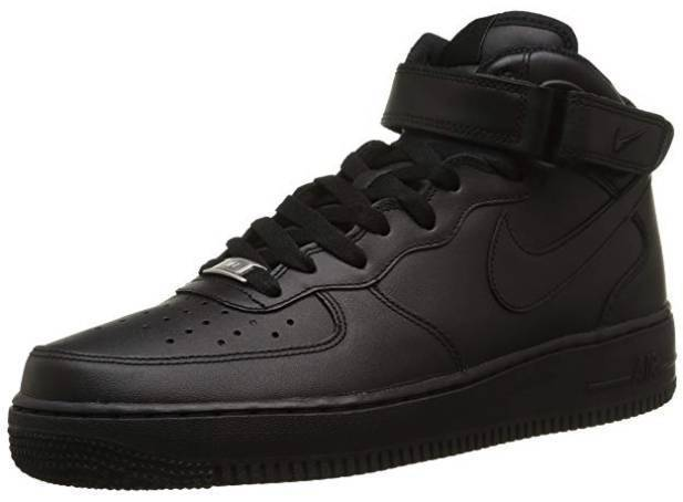 Nike Air Force Mid schwarz