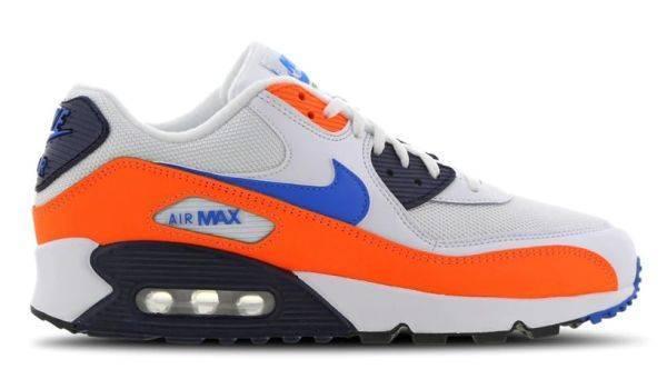 Nike Air Max 90 orange blau