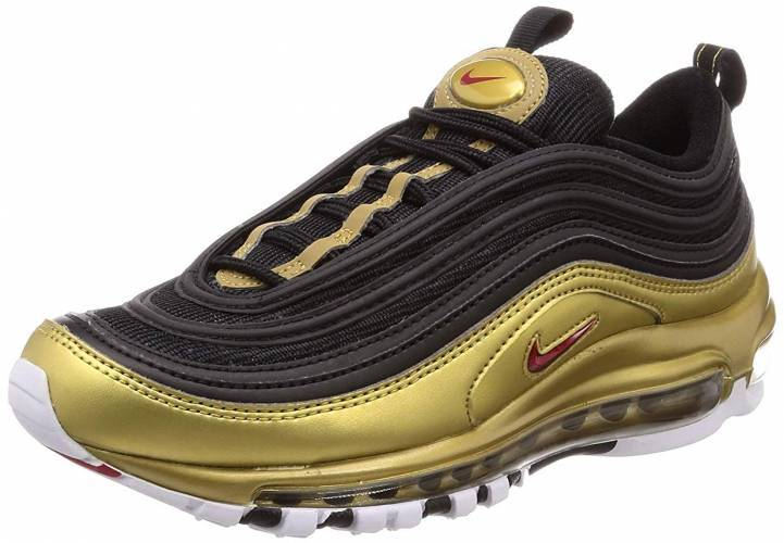 Nike Air Max 97 gold schwarz