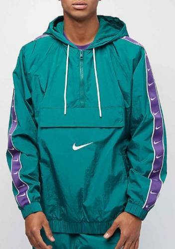Nike Jacke grün lila