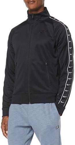 Nike Trainingsjacke weiß schwarz