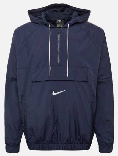Nike Windbreaker blau rot Streifen