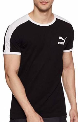 Puma T7 T-Shirt schwarz