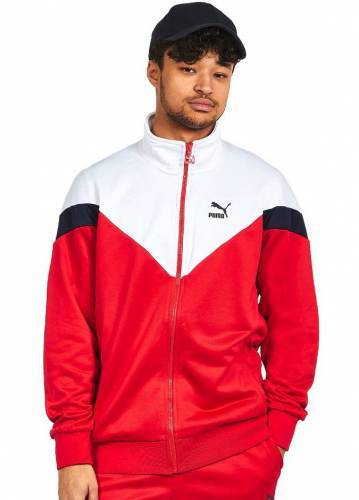 Puma Trainingsanzug rot weiß