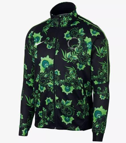 Nike Trainings Jacke grüne Blumen