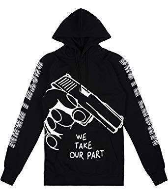 Beste Leben Hoodie We take our Part