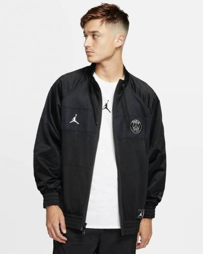 Jordan PSG Jacke schwarz Mesh