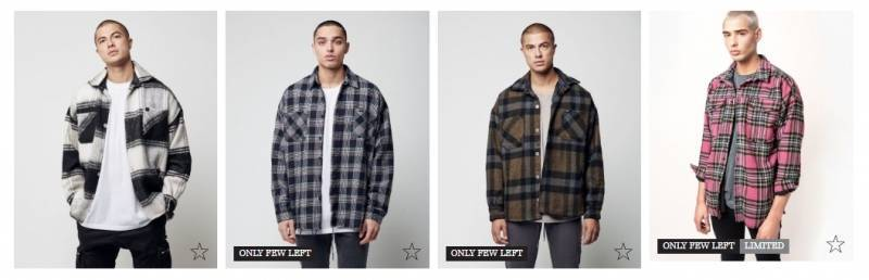 Live Fast Die Young Flanell Jacken