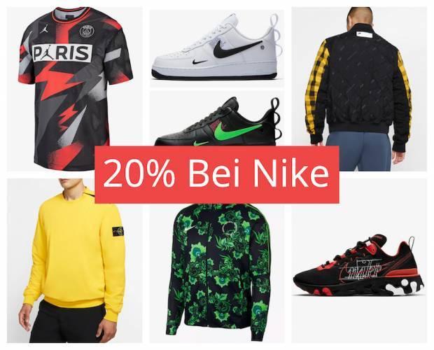 Nike Aktion: 20 Prozent Gutschein August 2019 - die besten Teile