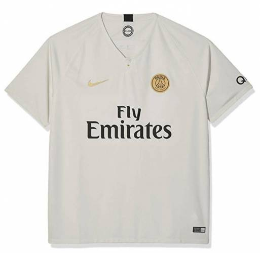 PSG Trikot 2018/19 Auswärts Light Bone