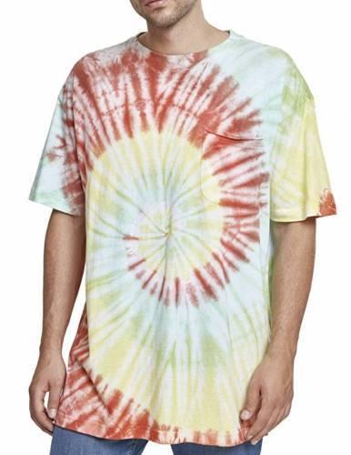 Urban Classics Tie Dye Spiral T-Shirt