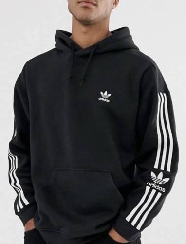 Adidas oversized Hoodie 3 Streifen