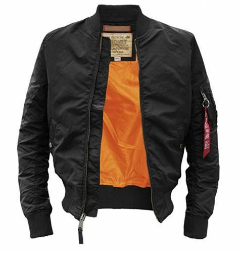 Alpha Industries Herren MA TT black