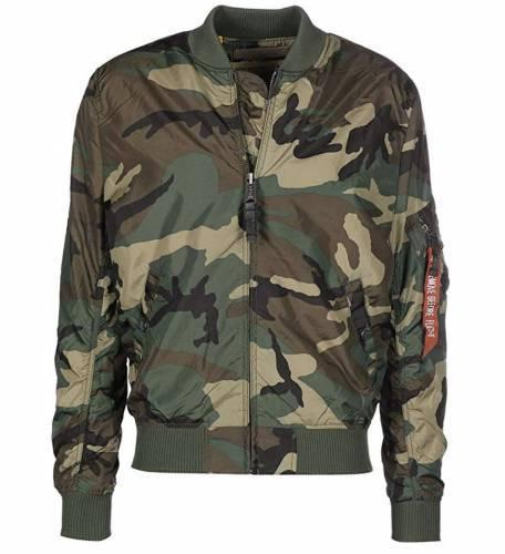 Alpha Industries MA1 Bomberjacke Camouflage