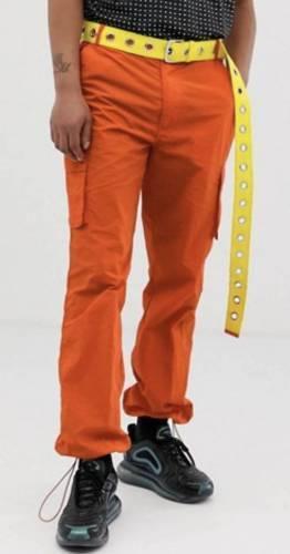 Cargo Hose orange Herren