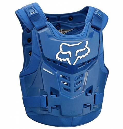 Fox Gear Brustpanzer blau