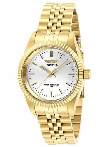 Invicta Uhr 29407 gold weiß